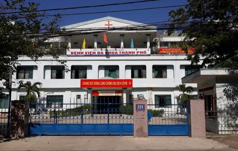 Phong tỏa Bệnh viện TP Quảng Ngãi, di chuyển bệnh nhân 419 ra Bình Sơn