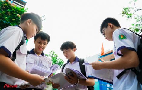 Thi lớp 10 tại TPHCM: Gần một nửa học sinh dưới 5 điểm môn toán