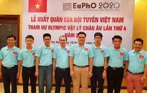 Thi trực tuyến Việt Nam vẫn giành huy chương vàng Olympic vật lý châu Âu