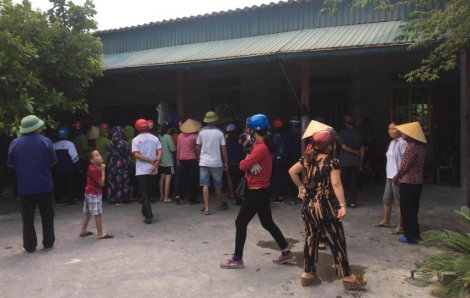 4 mẹ con thương vong trong căn nhà khóa trái cửa bị cháy
