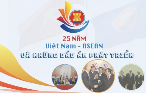 25 năm Việt Nam – ASEAN và những dấu ấn phát triển