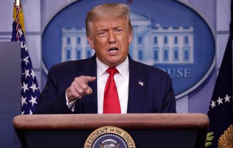Tổng thống Mỹ Donald Trump đề nghị hoãn bầu cử