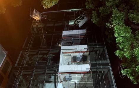 4 nạn nhân tử vong do sập giàn cẩu công trình