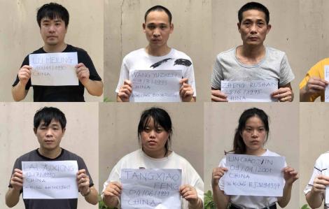 Lại phát hiện 28 người Trung Quốc nhập cảnh trái phép vào TPHCM