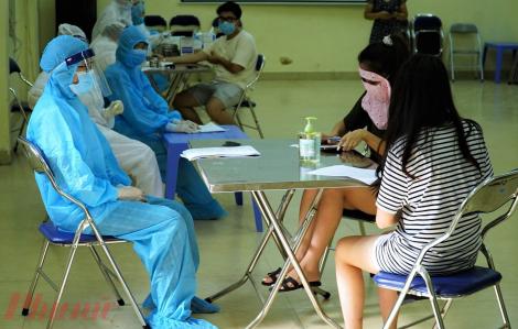 Đã có kết quả xét nghiệm lại của 10/11 ca test nhanh dương tính tại Hà Nội