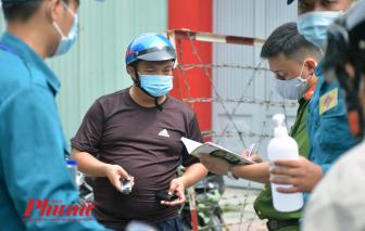 Bí thư Nguyễn Thiện Nhân kêu gọi các bác tài xe ôm thông báo người nghi nhập cảnh trái phép