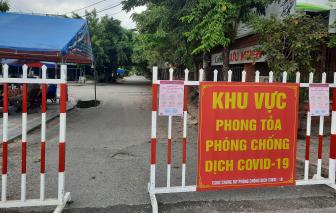 Phong tỏa nơi bệnh nhân số 622 mắc COVID-19 cư trú