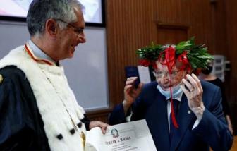 """Tốt nghiệp đại học ở tuổi 96, """"cụ"""" sinh viên người Ý vào top những cử nhân lớn tuổi nhất thế giới"""