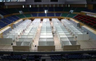 Bệnh viện Dã chiến tại Cung thể thao Tiên Sơn Đà Nẵng đã hoàn thành