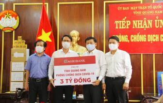 Hơn 8 tỷ đồng ủng hộ Quảng Nam phòng, chống dịch COVID-19