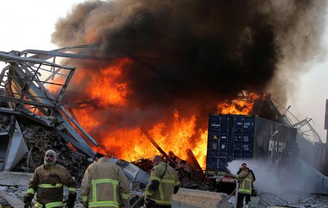 Ít nhất 78 người thiệt mạng trong vụ nổ kinh hoàng ở Lebanon, Mỹ hứa giúp đỡ