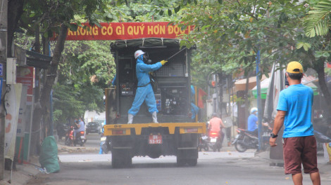Thời điểm nam bảo vệ Bến xe Trung tâm Đà Nẵng được phát hiện mắc COVID-19