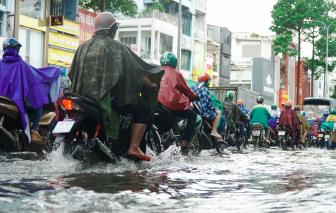 Từ nay đến 8/8, TPHCM có khả năng mưa to đến rất to, kèm dông lốc