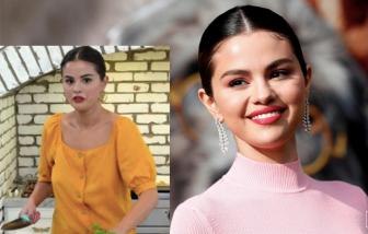 """Tránh dịch ở nhà, Selena Gomez thành """"siêu đầu bếp"""""""