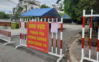Phong tỏa tổ dân cư nơi bệnh nhân 672 cư trú