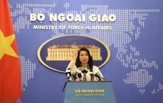 Việt Nam phản đối Trung Quốc điều máy bay chiến đấu tới Đá Subi