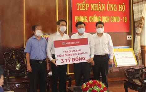 Agribank ủng hộ tỉnh Quảng Nam 3 tỷ đồng phòng chống dịch COVID-19