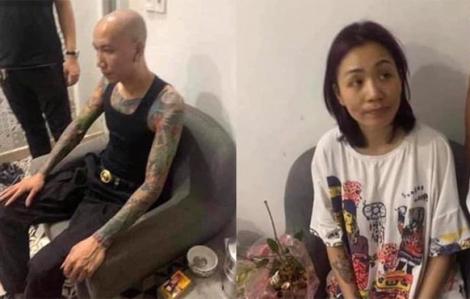 Bắt giữ cặp vợ chồng đóng phim giang hồ Phú Lê