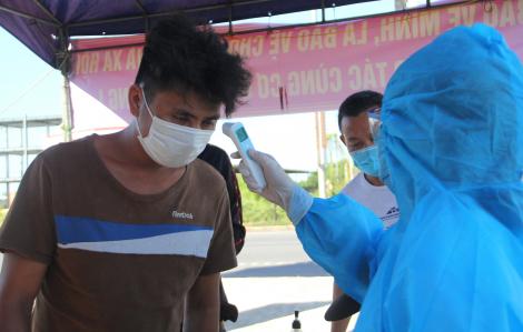 8 ca mới mắc COVID-19 tại Quảng Nam: Buôn bán ở chợ, tiếp xúc với rất nhiều người