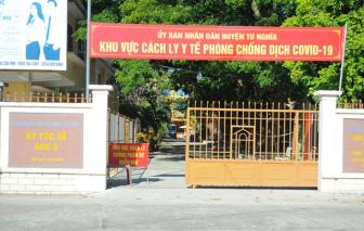 48 học sinh F2 liên quan bệnh nhân 786 ở Quảng Ngãi thi phòng riêng