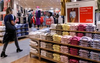 Việt Nam thay thế Trung Quốc giữ vị trí nước xuất khẩu quần áo hàng đầu vào Mỹ