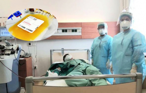 Bác sĩ, điều dưỡng hiến huyết tương cứu bệnh nhân COVID-19