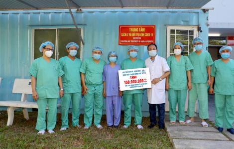 Bệnh nhân đến từ vùng dịch tễ được chữa trị tại cơ sở 2 Bệnh viện Trung ương Huế