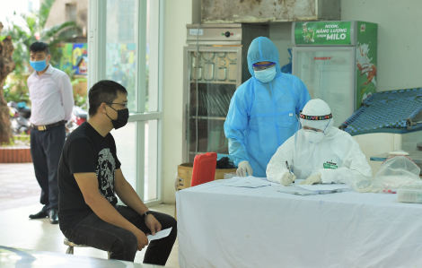 Hà Nội xét nghiệm RT-PCR hơn 70.000 người trở về từ Đà Nẵng