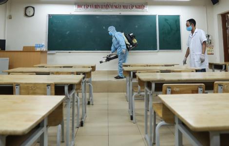 Hà Nội: Chuyển một điểm thi tốt nghiệp THPT do có giáo viên thuộc diện F1