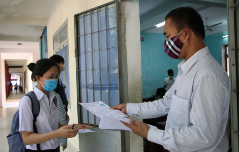 Quảng Ngãi: 352 thí sinh phải dừng thi do liên quan đến bệnh nhân 786