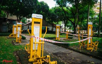 Công viên, khu vui chơi ở TPHCM đồng loạt phong tỏa sau lệnh ngưng phục vụ