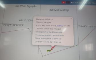 3 tàu cá Khánh Hòa bị Indonesia bắt giữ khi đang hoạt động trong vùng biển Việt Nam
