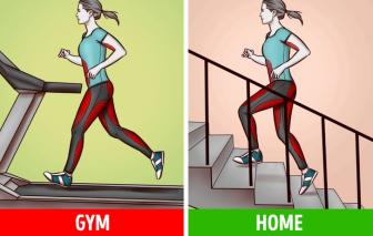 Biến mọi góc nhà thành phòng tập gym tại gia