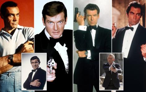 Ai là điệp viên 007 được khán giả yêu thích nhất?