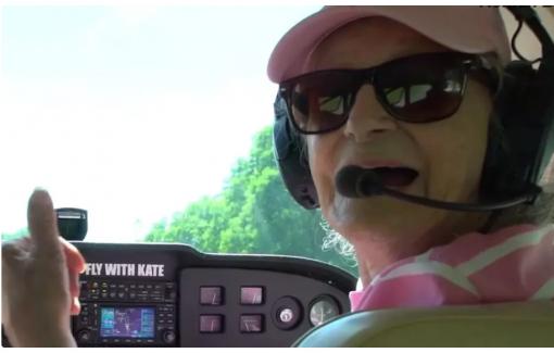 Cụ bà 99 tuổi đam mê lái máy bay được Guinness thế giới vinh danh