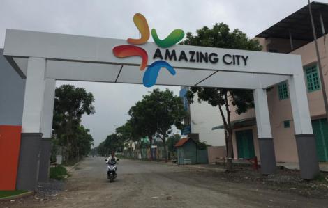 Chủ đầu tư dự án Amazing City chưa được giao đất đã xây 220 căn nhà bán cho khách hàng