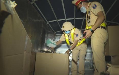 Đắk Lắk: Phát hiện vụ vận chuyển hơn 67.000 khẩu trang y tế không rõ nguồn gốc
