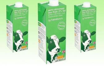 Cảnh báo lô sữa ít béo của Anh bị hỏng do nhiễm vi sinh vật
