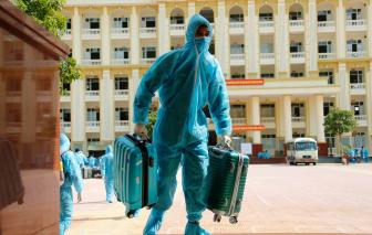 Gần 1000 người từ Quảng Nam, Đà Nẵng chuẩn bị về Hà Nội