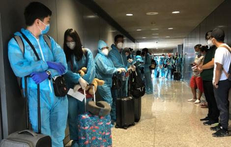 Đón thêm 340 công dân Việt Nam từ Mỹ về nước