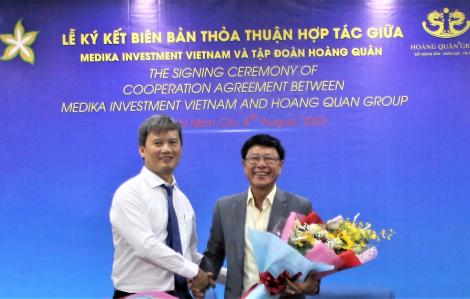 Tập đoàn Hoàng Quân hợp tác với Công ty Medika Investment Việt Nam phát triển chuỗi hệ thống bệnh viện quốc tế
