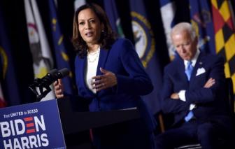 Ứng cử viên Joe Biden và Harris thề sẽ 'tái thiết' nước Mỹ