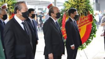 Quốc tang - tiễn biệt, tiếc thương nguyên Tổng bí thư Lê Khả Phiêu