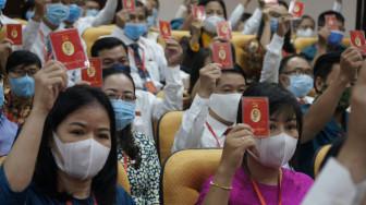 Số lượng Đảng viên mới tại quận Tân Bình đạt 153% so với chỉ tiêu của nhiệm kỳ cũ
