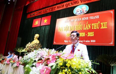 Ông Vũ Ngọc Tuất tái đắc cử Bí thư Quận ủy quận Bình Thạnh