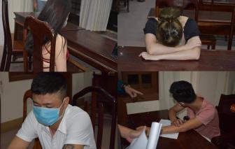 Bất chấp lệnh cách ly xã hội vì có 7 người mắc COVID-19, nhóm thanh niên vẫn mở tiệc ma túy