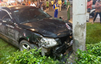 Một nạn nhân trong vụ tai nạn do... đạp nhầm chân ga bị dập phổi, dập thận