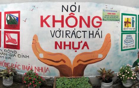 Bức tranh tường bảo vệ môi trường