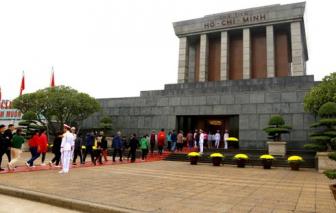 Lăng Chủ tịch Hồ Chí Minh mở cửa lại từ 15/8