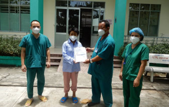 Thêm 10 bệnh nhân mắc COVID-19 tại Đà Nẵng khỏi bệnh, xuất viện